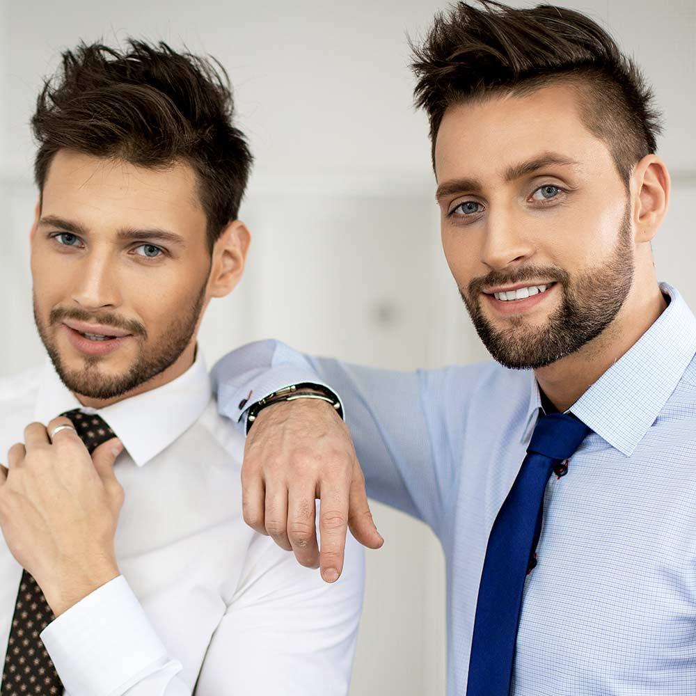Hair Contouring anche per l'uomo.   Nelvia hair contouring